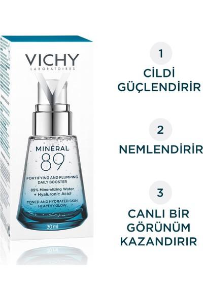 Vichy Mineral 89 Nemlendirici Hyalüronik Asit ve Termal Su Günlük Nem Bakımı 30 ml