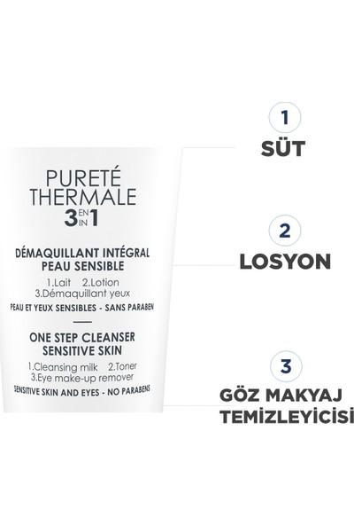 Vichy Purete Thermal 3'ü 1 Arada Temizleme Sütü Tüm Cilt Tipleri 200 ml