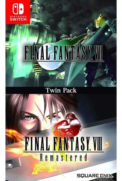 Final Fantasy VII & VIII Remastered Twin Pack Nintendo Switch Oyun