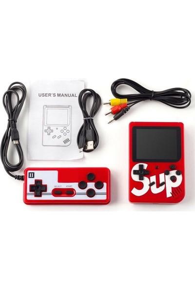 "Atari Sup Retro 2 Oyunculu 3"" 400 Oyunlu Mini 3 m Tv Kablosu"