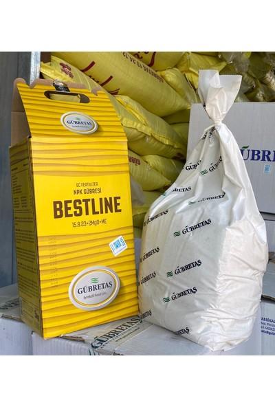 GÜBRETAŞ BESTLİNE EDTA İz Elementli ( bakır demir mangan çinko ) Nıtrat Üre Azot Magnezyum Toz NPK Bitki Ağaç Meyve Sebze Domates Muz Çilek Gübresi 5 Kg