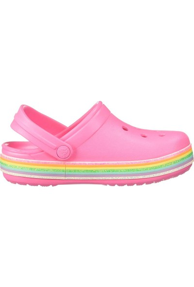 Crocs Crocband Rainbow Glitter Clg K Çocuk Terlik