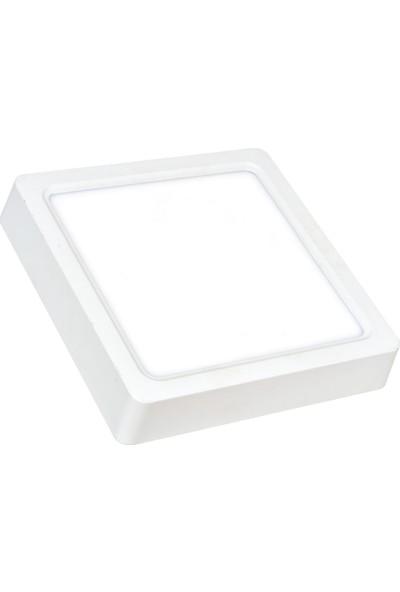 Ack 12 W 3000K Günışığı Sıva Üstü Kare LED Panel Armatür AP04-01200
