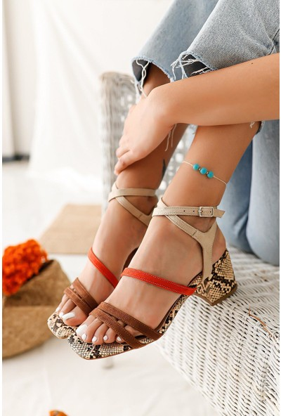 Limoya Ashley Alçak Topuklu Sandalet