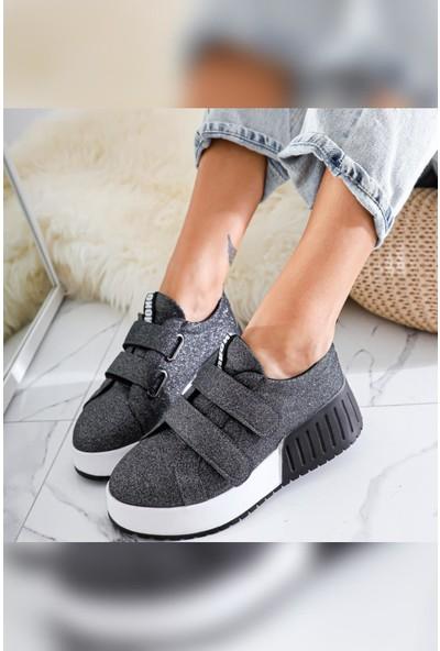 Limoya Julia Çift Bantlı Yüksek Tabanlı Sneakers