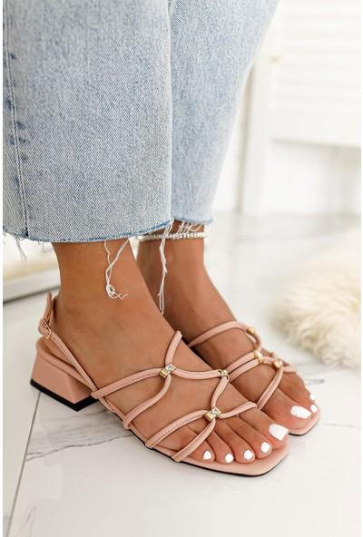 Limoya Livia Pırlanta Detaylı Sandalet