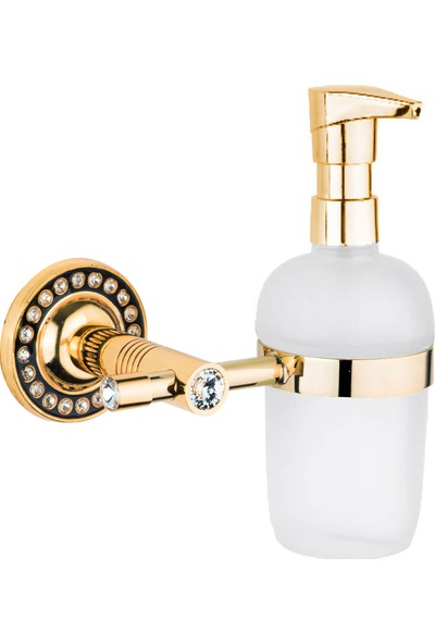 Saray Banyo Regina Gold Sıvı Sabunluk