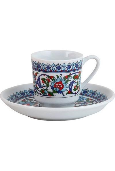 Kütahya Porselen Topkapı Kahve Fincan Takımı 6 Kişilik