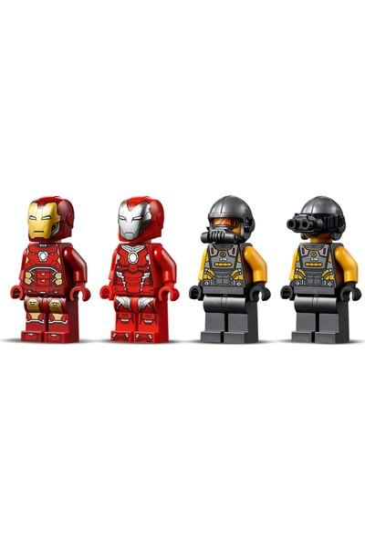 LEGO® Marvel Avengers 76164 Iron Man Hulkbuster A.I.M. Ajanına Karşı Süper Kahraman Çocuk Oyuncak Yapım Seti (456 Parça)