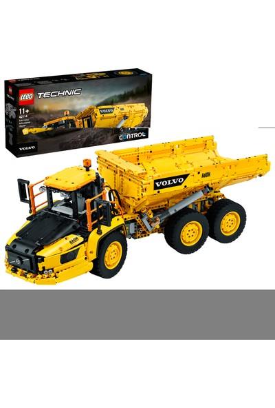 LEGO® Technic 42114 6x6 Volvo Mafsallı Kamyon Çocuk Oyuncak İnşaat Oyun Seti (2193 Parça)