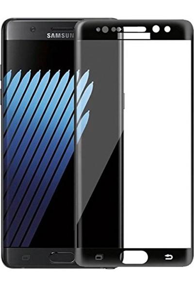 UKS Case Samsung Galaxy Note 7 Fe Tam Kaplayan Ekran Koruyucu 5D Cam