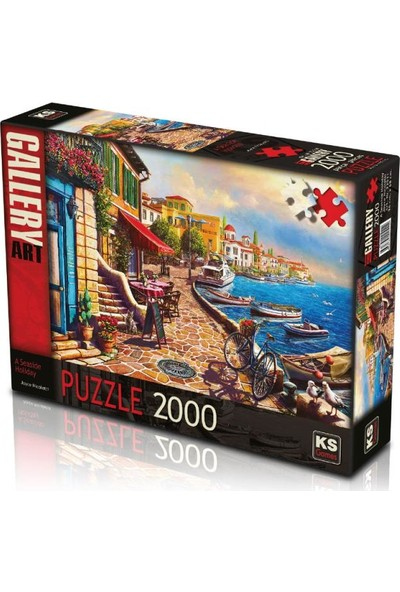 Ks Games A Seaside Holiday 2000 Parça Puzzle 22511