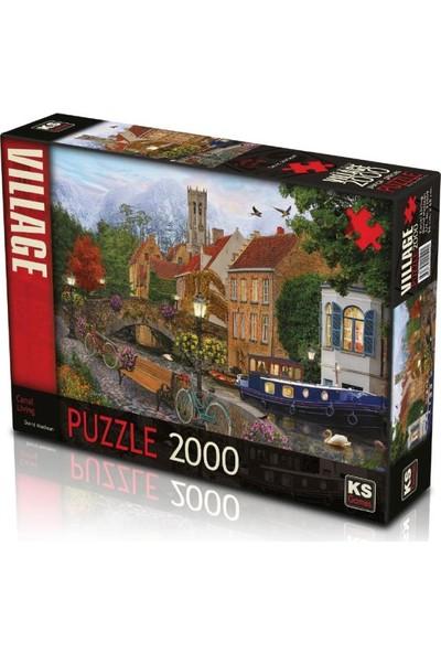 Ks Games Canal Living 2000 Parça Puzzle 22509