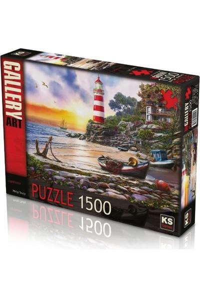 Ks Games Lighthouse 1500 Parça Puzzle 22019