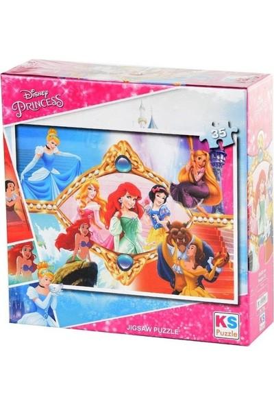Ks Games Princess 35 Parça Puzzle Pr 706