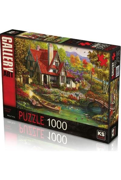 Ks Games Riverside Cottage 1000 Parça Puzzle 20569