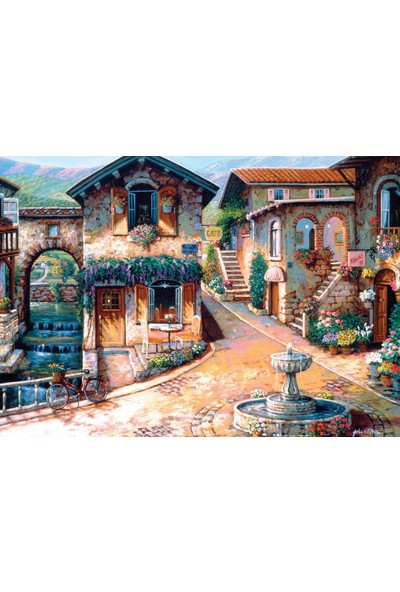 Ks Games The Fountain On The Square 500 Parça Puzzle 20013
