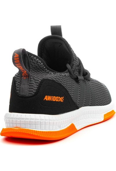 Awidox Füme Erkek Rahat Taban Triko Spor Ayakkabı