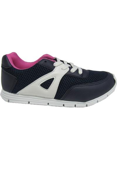 Prowess Lacivert Günlük Kullanım Kadın Spor Yürüyüş Ayakkabısı