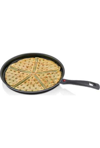 Papilla Lily 26 cm Granit Kaplama Waffle Tavası
