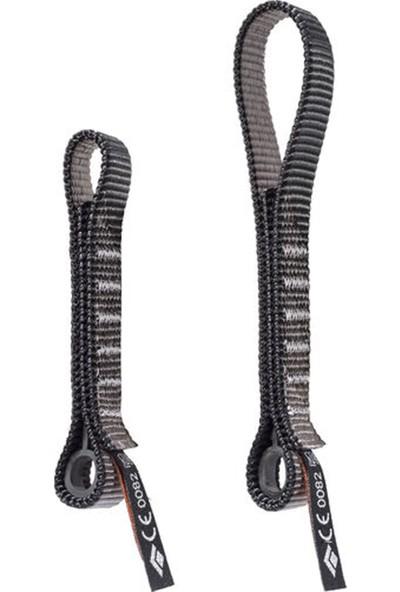 Black Diamond Standard Dogbone 16 cm Outdoor Tırmanış Aksesuarı Siyah - Gri