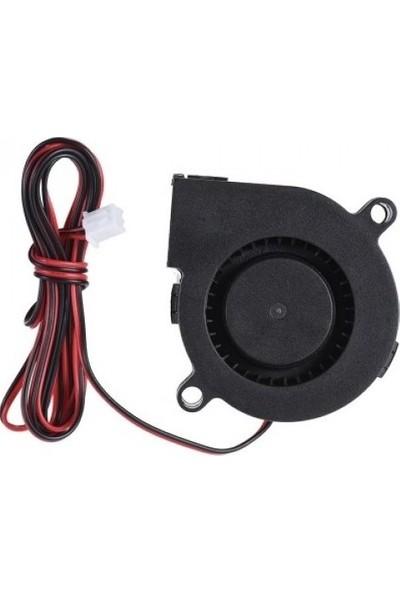 Everflow Salyangoz 3D Yazıcı Fan 24V 2 Kablo 50 x 50 x 15 mm