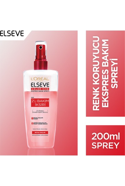 L'Oréal Paris Elseve Colorvive Ekspres Bakım Spreyi 200 ml
