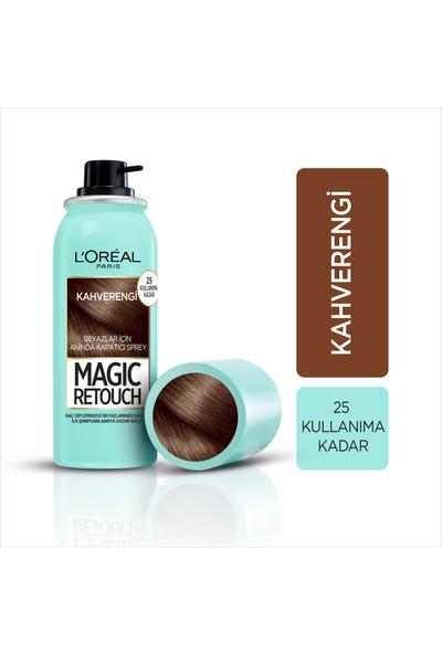 L'Oréal Paris Magic Retouch Beyaz Dipleri Kapatıcı Sprey - Kahverengi