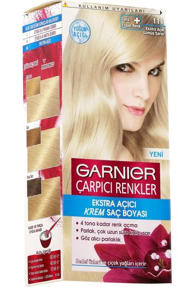 Garnier Çarpıcı Renkler 111 Ekstra Açık Gümüş Sarısı