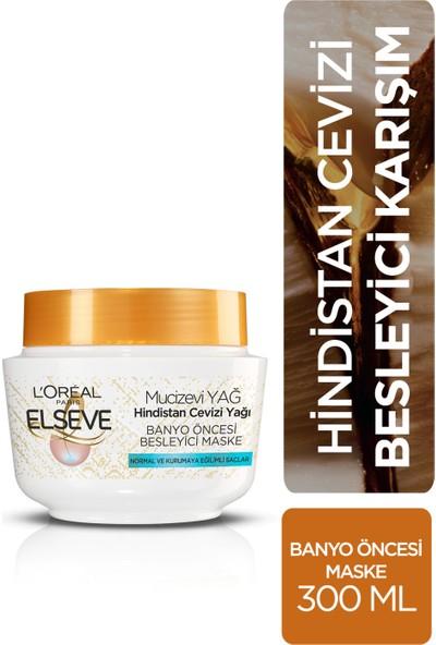 L'Oréal Paris Elseve Hindistan Cevizi & Değerli Yağlar Eşsiz Karışım Banyo Öncesi Maske