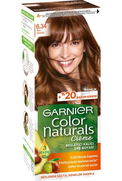Garnier Color Naturals 6/34 - Altın Çikolata Saç Boyası