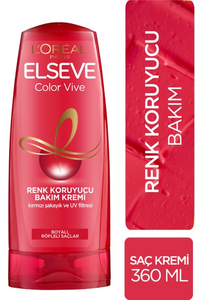 L'Oréal Paris Elseve Colorvive Renk Koruyucu Bakım Kremi 360 ml