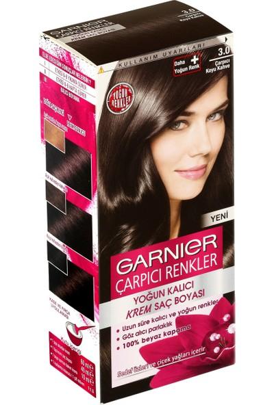 Garnier Çarpıcı Renkler 3/0 - Çarpıcı Kahve Saç Boyası