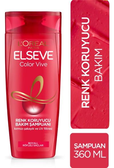 L'Oréal Paris Elseve Colorvive Renk Koruyucu Bakım Şampuanı 360 ml