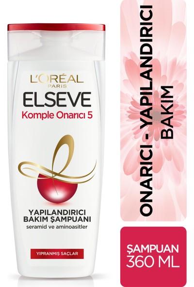 L'Oréal Paris Elseve Komple Onarıcı 5 Yapılandırıcı Bakım Şampuanı 360 ml