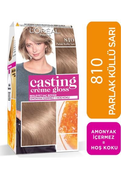 L'Oréal Paris Casting Crème Gloss Saç Boyası 810 Parlak Küllü Sarı