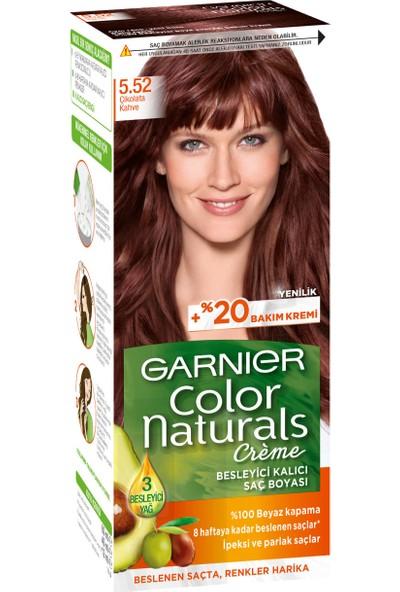 Garnier Color Naturals 5/52 - Çikolata Kahve Saç Boyası