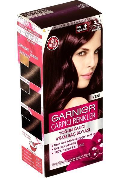 Garnier Çarpıcı Renkler 3/16 - Yoğun Küllü Kızıl Saç Boyası