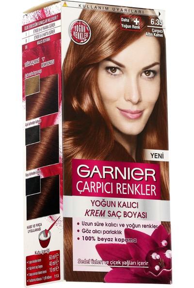 Garnier Çarpıcı Renkler 6/35 - Çarpıcı Altın Kahve Saç Boyası