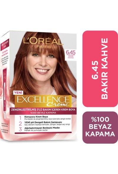 L'oréal Paris Excellence Creme Saç Boyası 6.45 Bakır Kahve