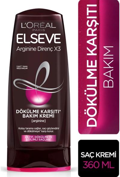 L'Oréal Paris Elseve Arginine Direnç X3 Dökülme Karşıtı Bakım Kremi 360 ml