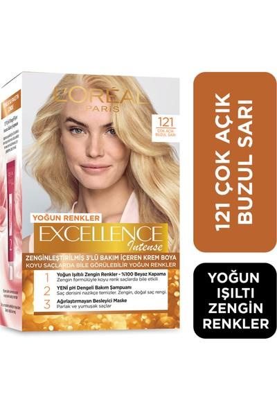 L'Oréal Paris Excellence Intense Saç Boyası 121 Çok Açık Buzul Sarı