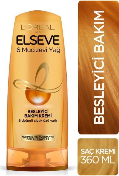 L'Oréal Paris Elseve 6 Mucizevi Yağ Besleyici Saç Kremi 360 Ml