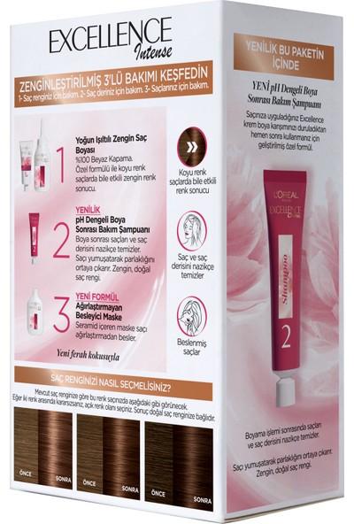 L'Oréal Paris Excellence Intense 6.32 Karamel Kahve Saç Boyası