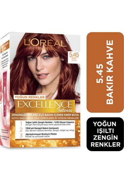 L'Oréal Paris Excellence Saç Boyası 5.45 Bakır Kahve