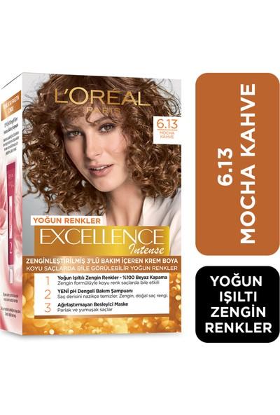 L'Oréal Paris Excellence Intense Saç Boyası 6.13 Mocha Kahve