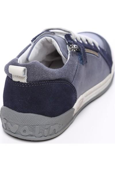 Garvalin Çocuk Deri Babet Ayakkabı 474 G 152580 Ck Ayk 27-35
