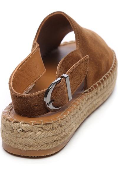 Kemal Tanca Kadın Deri Sandalet 769 S1000 Byn Sndlt Y20