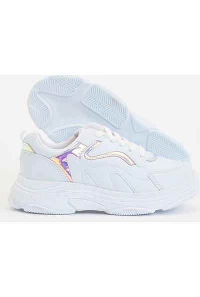 DeFacto Kız Çocuk Bağcıklı Sneaker Ayakkabı S1050A620AU
