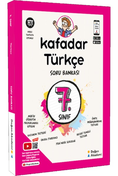 Doğan Akademi Kafadar 7.sınıf Türkçe Soru Bankası